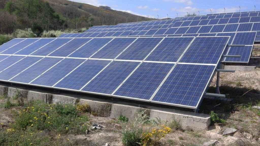 Parque solar de Baldo, uno de los 62.000 afectados