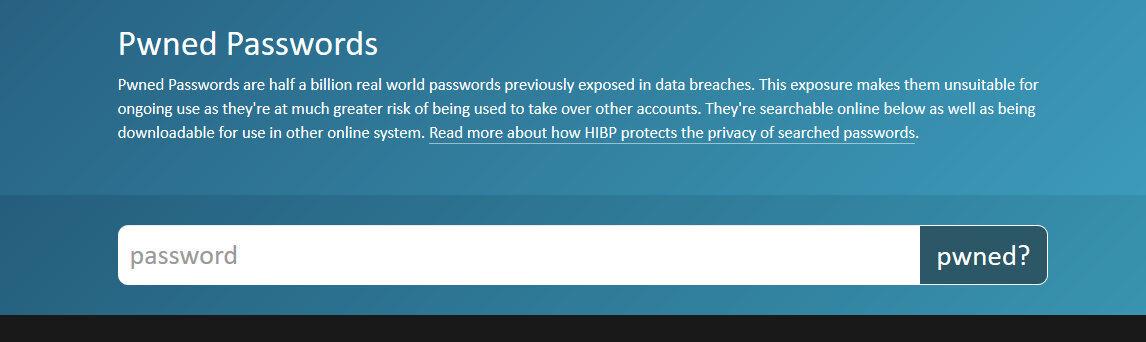 contrasenas pwned passwords 2