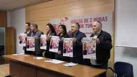 SINDICATOS 8 MARZO EUROPA PRESS
