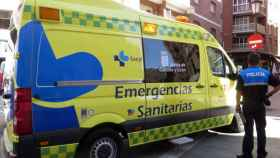 zamora ambulancia policia local