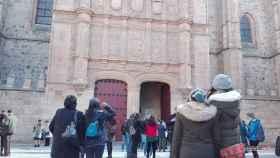 turistas universidad invierno
