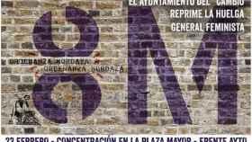 cartel concentracion manifestacion 8m valladolid 1