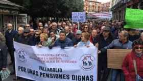 manifestacion pensiones valladolid jubilados 5