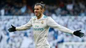 Bale celebra su gol