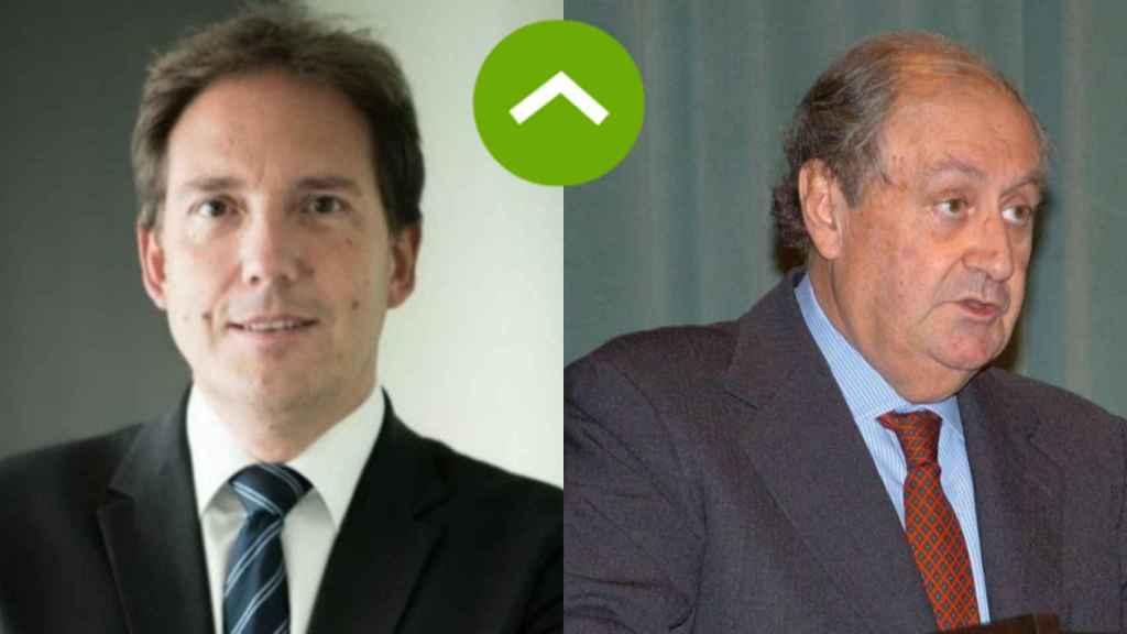 COMO LEONES: Laurent Paillasot (Orange) y Juan March (Corporación Financiera Alba)