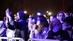 Asistentes al festival de Jazz en Riad