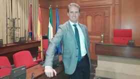 José Luis Moreno en el Ayuntamiento de Córdoba