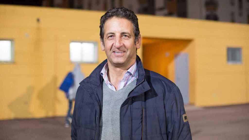 Alejandro Benítez fue el fundador del club Alma de África. Ahora es también su presidente y su entrenador.