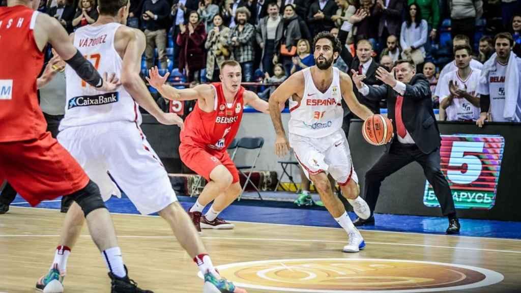 Beirán logró 13 puntos ante Bielorrusia.