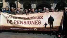Manifestación jubilados pensiones 8