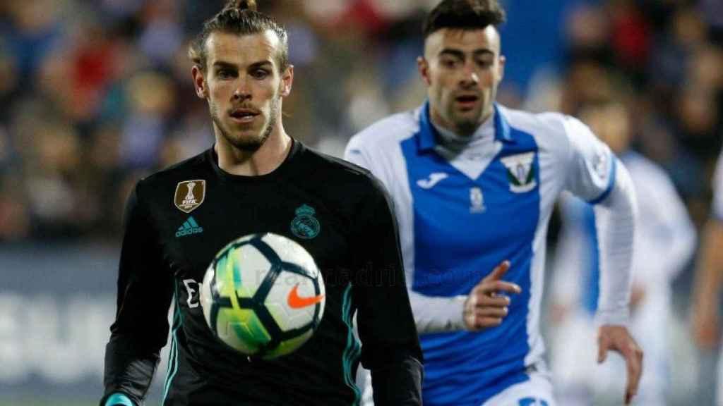 Gareth Bale, en el Leganés-Real Madrid