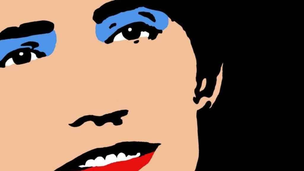 Rosalía de Castro, a lo Andy Warhol, por los diseñadores de Rei Zentolo