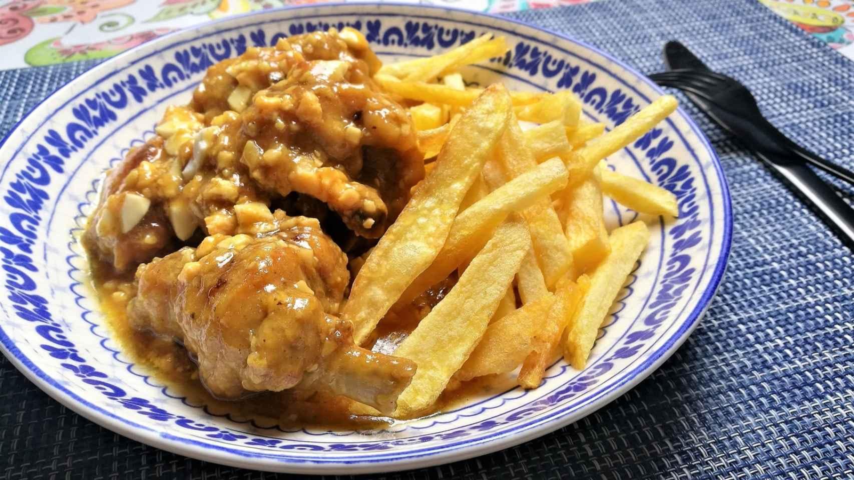 Pollo En Pepitoria Receta Tradicional Tuneada Con Cerveza