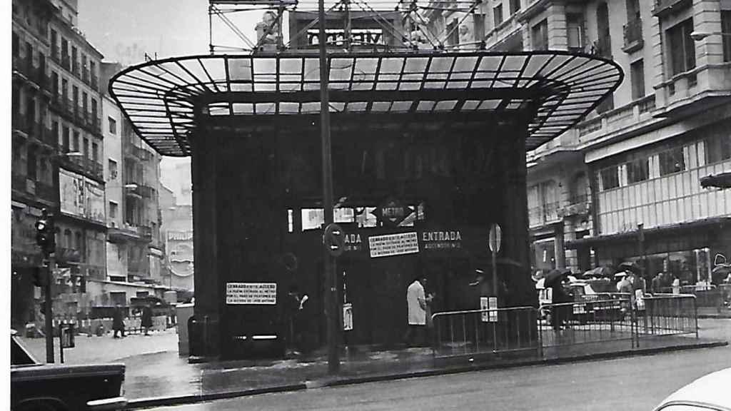 Antigua estación de metro.
