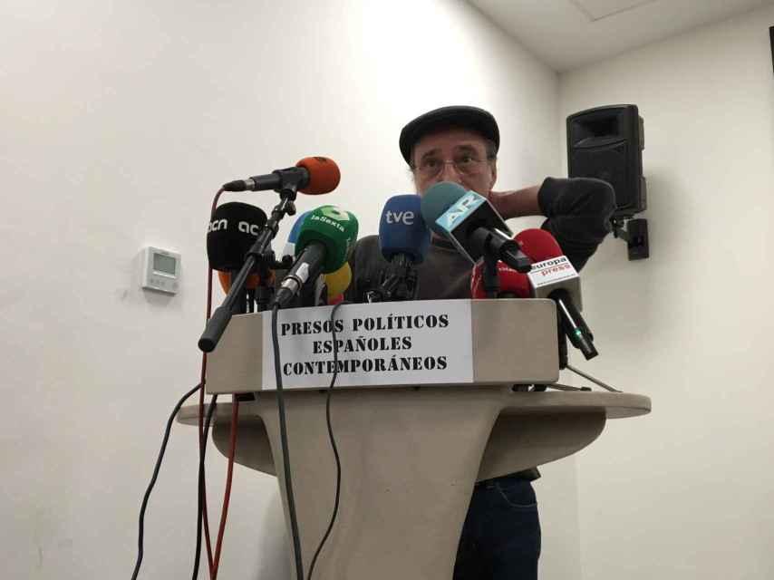 Sierra presenta sus presos políticos españoles contemporáneos.