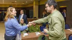 Eva Mancera en el VII Encuentro de distribucion CyL