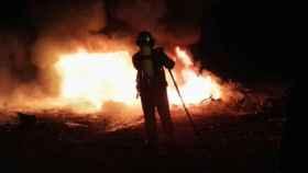 Valladolid-bomberos-fuego-extinguido