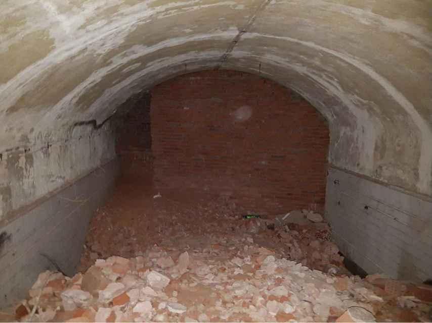 Antiguo vestíbulo del metro. Las fotos que desmienten a Cristina Cifuentes.