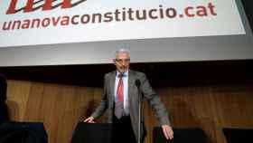 Vidal, en uno de los actos de presentación de la 'constitución catalana'.