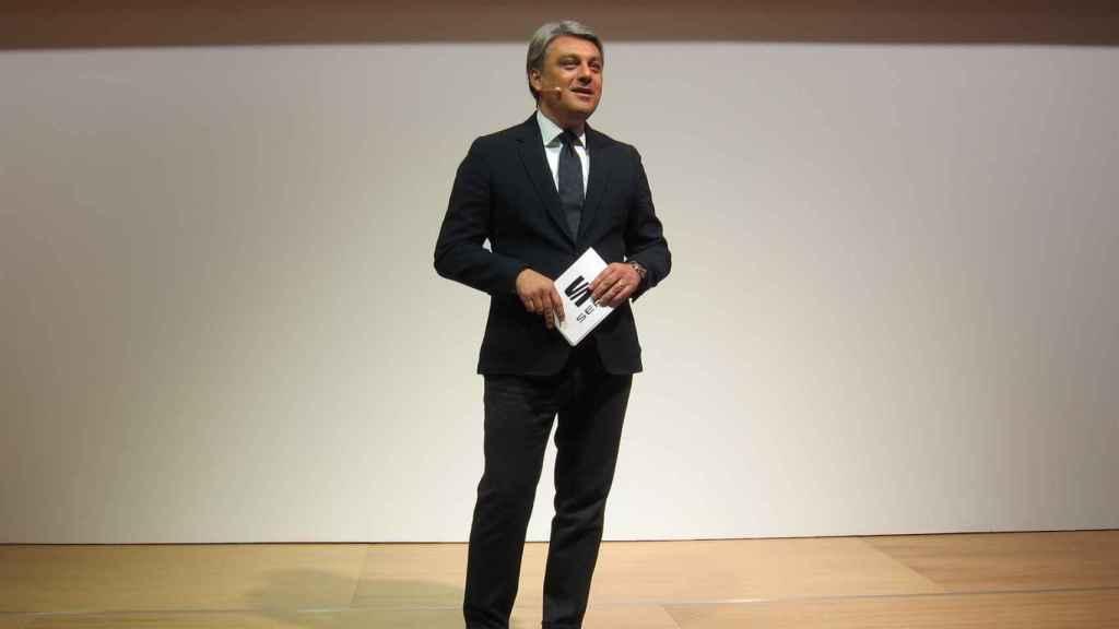 Luca de Meo, presidente de Seat en España.