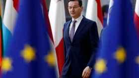 El primer ministro polaco, Mateusz Morawiecki, en Bruselas.