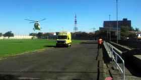 zamora helicoptero ambulancia cei 1