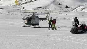 Rescate en Pico Arenal
