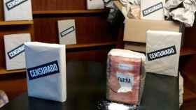 La protesta de la librería Lume para defender Fariña del secuestro como medida cautelar.