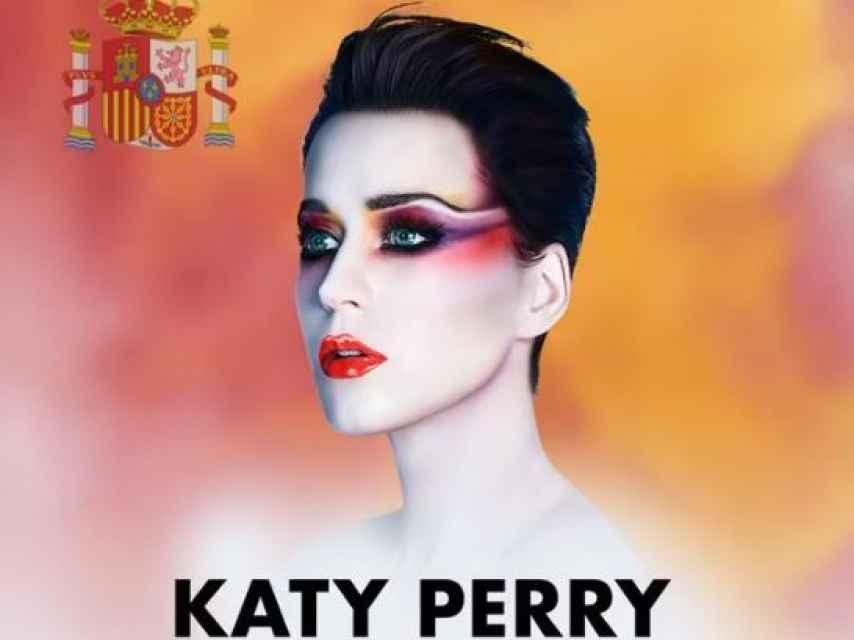 Katy Perry en su vídeo de presentación a Barcelona.