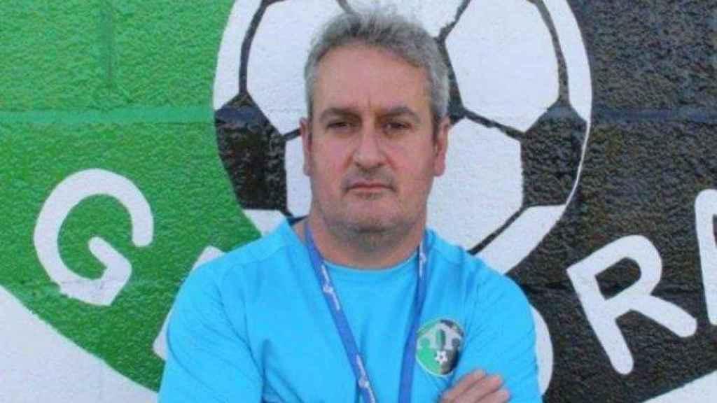 Luis Charro, el entrenador juvenil del CD Gévora fallecido este lunes.