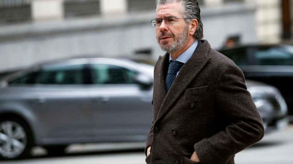 Francisco Granados a su llegada a la Audiencia Nacional el pasado 27 de febrero.
