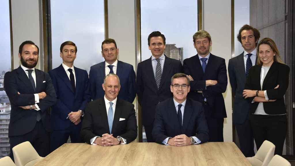 El equipo de Colliers International Spain