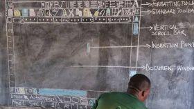 El mérito de este profesor de Ghana es espectacular