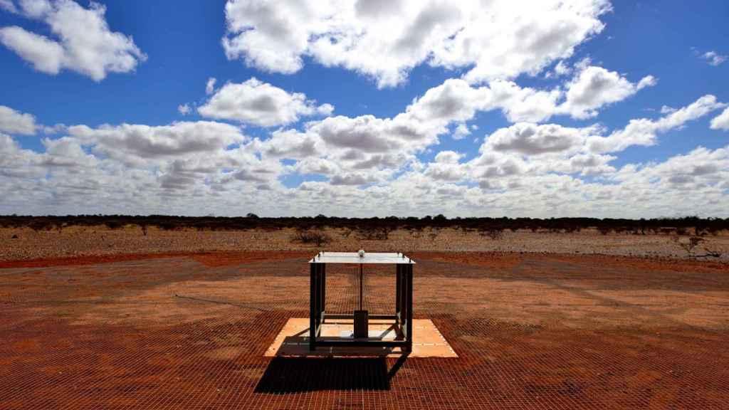 El espectómetro EDGES, situado en Australia.