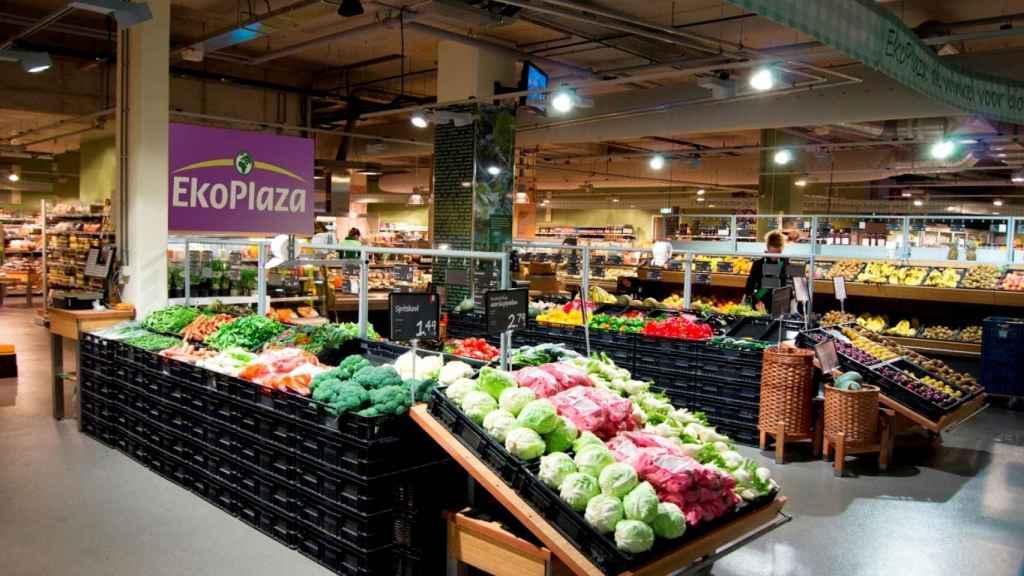 Una de las tiendas de la cadena holandesa Ekoplaza