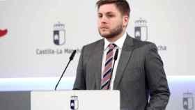 Nacho Hernando, portavoz del Gobierno de Castilla-La Mancha. Foto: Ó. Huertas.
