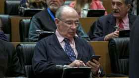 Rodrigo Rato, en el Congreso de los Diputados.