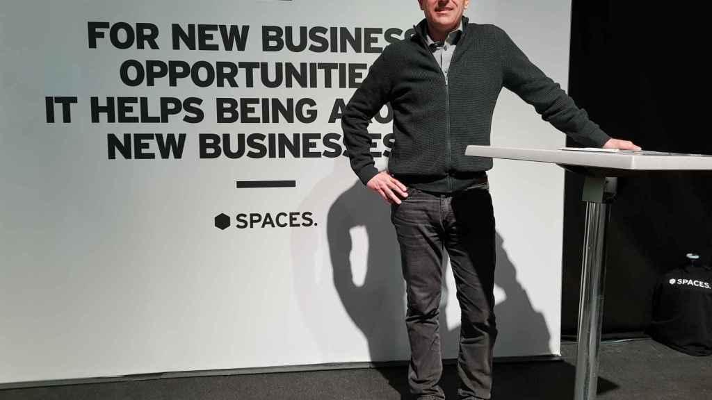 Philippe Jiménez, country manager de Spaces España.