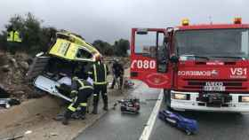 herido ambulancia avila