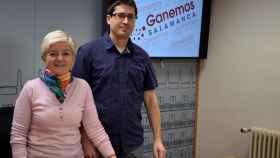 Gabriel de la Mora y Pilar Moreno