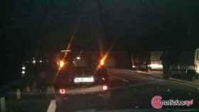 accidente autovia noche