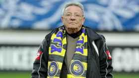 Walter Luzi, fundador del Chambly, que falleció tras ver a su equipo lograr la gesta de llegar a las semifinales de Copa.