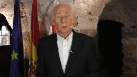 Albert Boadella, presidente de Tabarnia, durante el vídeo.