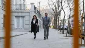 El jefe de los Mossos d'Esquadra, Ferran López, a su llegada al Tribunal Supremo.