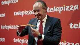 El presidente de Telepizza, Pablo Juantegui.