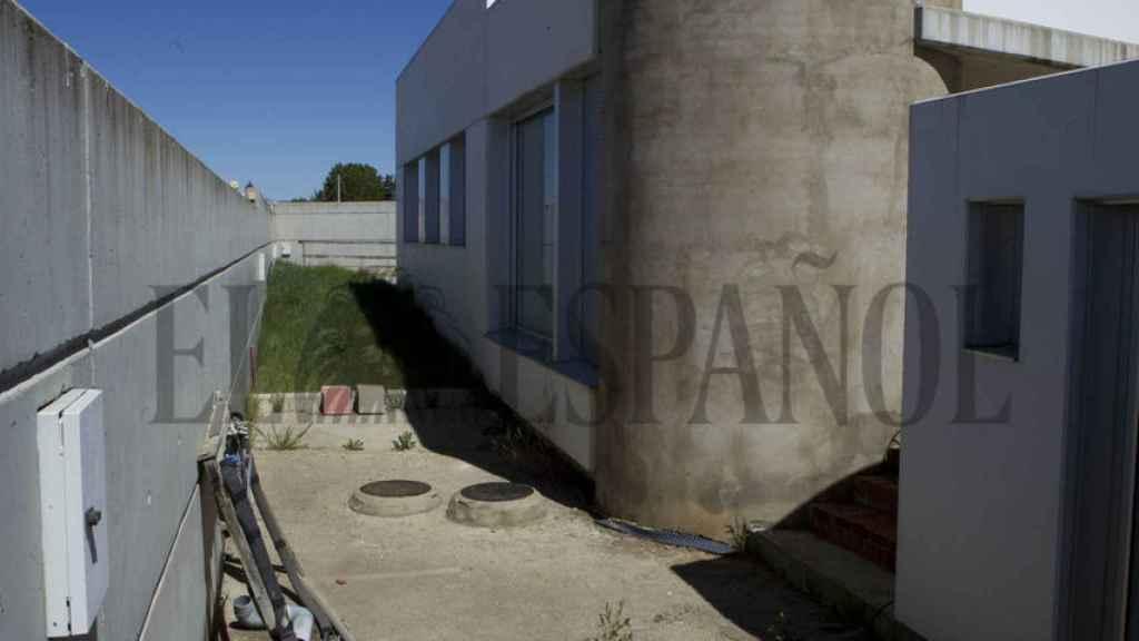 Imagen de la zona exterior de la casa.
