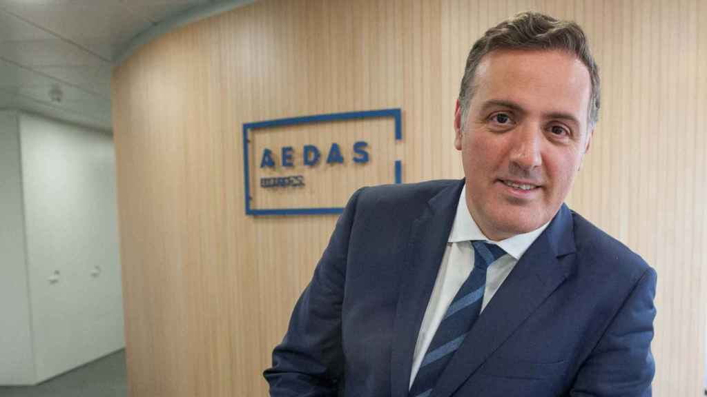 David Martínez, consejero delegado de la inmobiliaria Aedas.