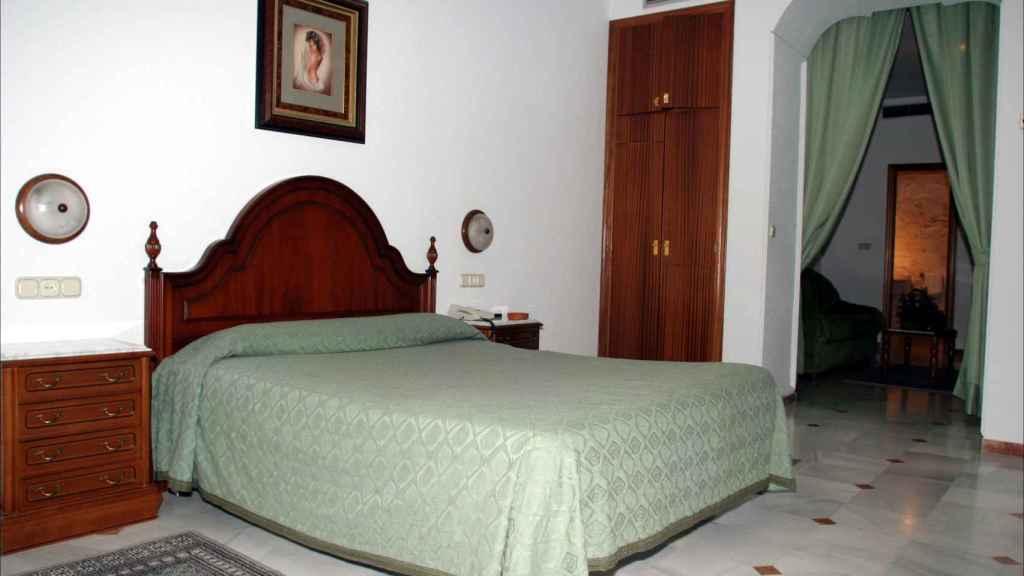 La suite nupcial del hotel Espronceda donde durmieron Alonso y Letizia.