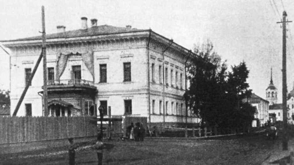 La llamada Casa de la Libertad en Tobolsk, donde estuvo presa la familia real rusa.