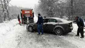 Zamora rabano sanabria rescate conductor nieve 2